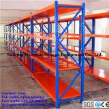 Shelving médio de aço do dever Q235 para o sistema de armazenamento de armazém