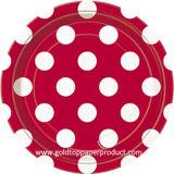 Fabricante profesional China de las placas de papel de la cena
