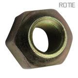 Noix de usinage de précision galvanisée hexagonale - et - boulons