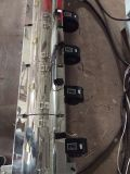 2つのカラーポリ袋の吹かれたフィルム機械