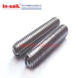 De Bout M5X15mm van de Nagel van de Draad van het Roestvrij staal van RoHS