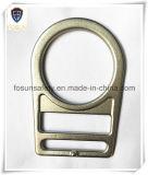 Гальванизированные кольца стальной безопасности D-Форменный двойного шлица