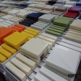 De grote Oppervlakte van de Vorm van de Plak Kunstmatige Marmeren Acryl Stevige