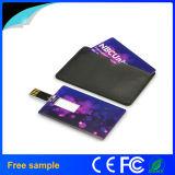 De aangepaste Schijf van de Creditcard USB van het Embleem Voor Bevordering
