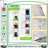 Stahlmaschendraht-Schließfach für Speicherung