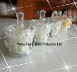 Venta al por mayor exquisito vaso de vidrio Fragrance velas globales del regalo