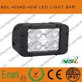 Regain tous terrains Lightbar de la rangée 4X4 du CREE 10W de barre d'éclairage LED double
