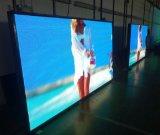 Instalación fija al aire libre de P10mm que hace publicidad de la tablilla de anuncios de LED