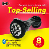 Vespa de equilibrio del uno mismo elegante de la rueda de la pulgada 2 de Patend 10 con el altavoz dural de Bluetooth