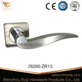 Ручка двери сплава цинка конструкции Европ никеля сатинировки циновки (Z6236-ZR13)