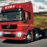 중국 Shacman M3000 트랙터 트럭과 사용된 트럭