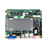 Motherboard van de Ventilator van het Atoom van Intel L2 Geheim voorgeheugen Ingebedde Motherboard met USB