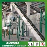 Pallina di bambù della segatura che fa riga progetto del carceriere del granulatore della biomassa