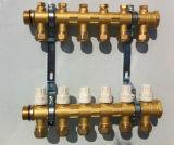 Латунь качества OEM выковала клапан шарика коллекторный (AV9062)