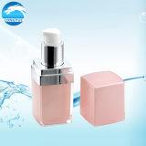 Frasco de creme cor-de-rosa cosmético acrílico do frasco da loção do GV