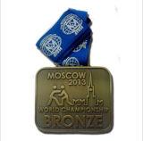 Подгонянные медали Shapeenamel звезды сплава цинка металла