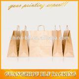 顧客用ロゴによって印刷されるブランドのクラフト紙のギフト袋の卸売(BLF-PB042)