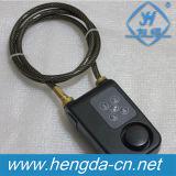Bloqueo de combinación de múltiples funciones Yh9207 con el bloqueo antirrobo de la alarma del cable de acero