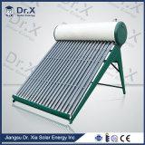 200 Litros compacto presurizado de calor solar de la pipa de agua del sistema de calefacción