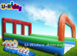 Aufblasbares Pony Racing Game mit Inflatable Track