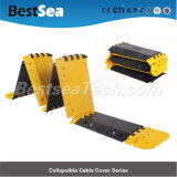 10mm Kanal-flexibler zusammenklappbarer Kabel-Schoner