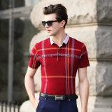 高品質の穏やかな人のポロシャツのスポーツの摩耗のゴルフ衣服