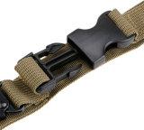 Correas del arma de la caza de Airsoft Paintball del amortiguador auxiliar de la honda del rifle de 3 puntas