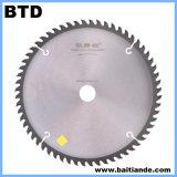 PCD hojas de sierra para el PVC / metal / tubo / de aluminio / plástico