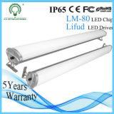 Alta potencia 40W 1.2m lámpara al aire libre IP65 LED tubo de iluminación