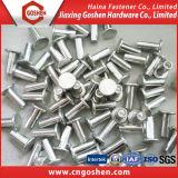 Noix pleine en acier de rivet de cavité de noix de rivet de rivet d'étape/rivet d'abat-jour