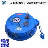 Type célèbre du taux 15/1 de la marque Hxg35-100 de qualité réducteur de transmission monté par arbre en Chine avec tige de renfort et l'arrêt de dos