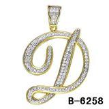 925 de echte Zilveren Juwelen van de Tegenhanger van de Brief