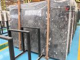 Marbre naturel en pierre grêle fumée pour le comptoir / Décoration du bâtiment
