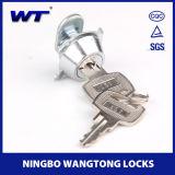 Wangtongのロックが付いている上の機密保護亜鉛合金のお金バンク
