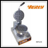 Sale caliente Commercial Electric Rorary Waffle Baker con el CE Approved Hfx-01