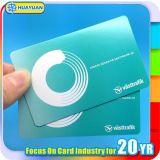 Tarjeta de papel sin contacto ultraligera del boleto del acceso MIFARE C RFID del acontecimiento