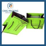 明るい方法ペーパーは運ぶギフト(DM-GPBB-077)のためのハンドルストリングが付いている袋を