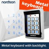 Система контроля допуска двери металла обеспеченностью Nt-106 одиночная с светящим