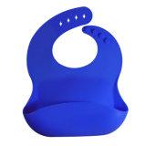 Sy03-01-002 FDA het Duurzame Speeksel van de Baby van het Silicone van het Bod van het Embleem van de Douane Zachte