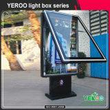 Коробка алюминиевого профиля Customzied светлая с мусорным баком