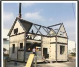 Casa de acero modular de la instalación rápida