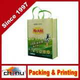 El paquete clasificado colorea a cabritos reutilizables no tejidos que llevan el bolso de totalizador de la tienda de comestibles de las compras para el favor de partido (920076)
