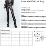 I ribattini punk di modo di rave S-222 hanno fissato i sacchetti di cuoio delle donne registrabili