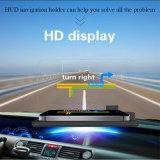 Estera antideslizante de la visualización de la pista de Hud del proyector de H6 Smartphone del sostenedor del coche del GPS del navegador del coche del montaje del soporte del teléfono del negro ascendente del sostenedor