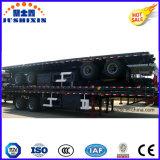 BPW 3 Aanhangwagen van de Vrachtwagen van de Opschorting van de Lucht van Assen Flatbed Semi