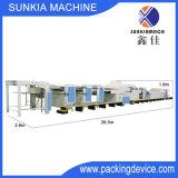 Máquina de capa ULTRAVIOLETA de alta velocidad automática total con la unidad de limpieza del polvo Xjb-4 (1200)