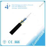 Cable óptico de fibra de ADSS con el peso ligero y el diámetro bajo