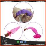 6PCS/Set de Stop Anale Dildo, het Erotische Speelgoed van het uiteinde van het Geslacht van de Stop van het Silicone van de Massage van Buttplug van het Speelgoed Prostate Volwassen Vrolijke Anale voor de Vrouw van Mannen
