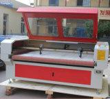 Cortadora de papel automática del laser de la tela del PVC del CO2 que enarena que introduce