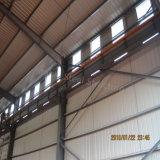 기중기를 가진 고강도 구조 강철 Prefabricated 작업장 건물